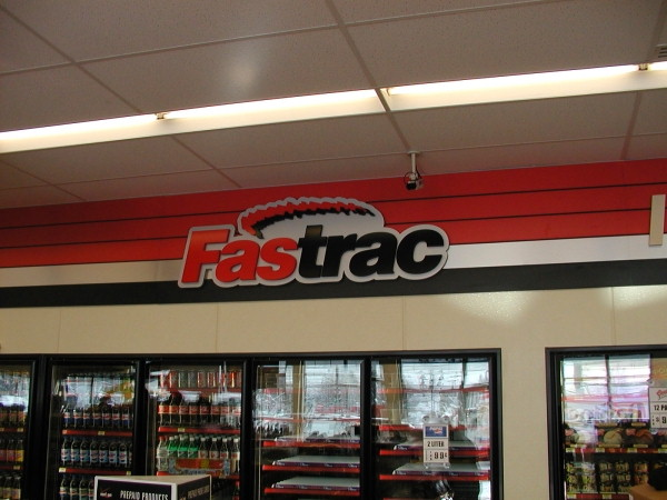Architectural Signs, Indoor signage :: corporate signs, custom signs, gas station signs :: Clay, NY