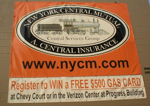 Digital Banner :: New York Central Mutual A. Central Insurance, insurance banner, business banner :: Syracuse, NY