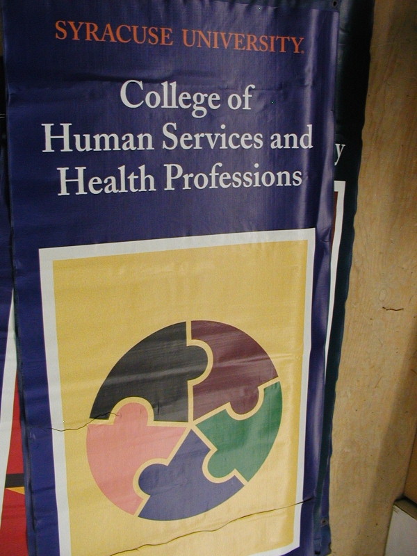 Digital Banner, Custom Banner :: Human Services and Health Professions SU Banner :: Syracuse, NY