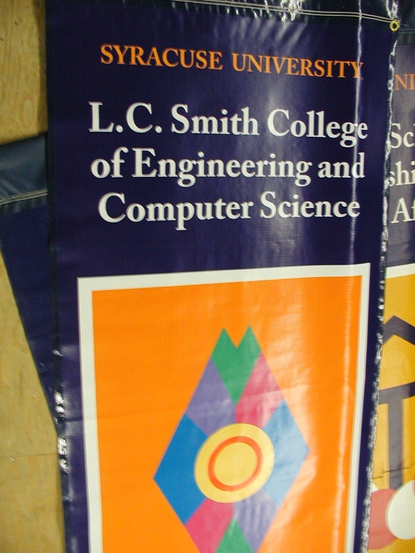 Digital Banner, Custom Banner :: Engineering and Computer Science SU Banner :: Syracuse, NY