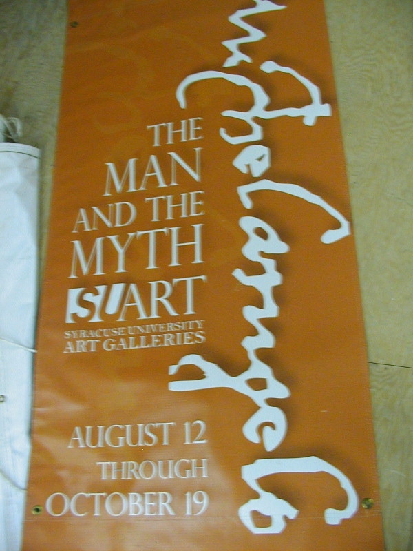 College banners, dorm banners, university banners :: SU Banners :: Syracuse, NY