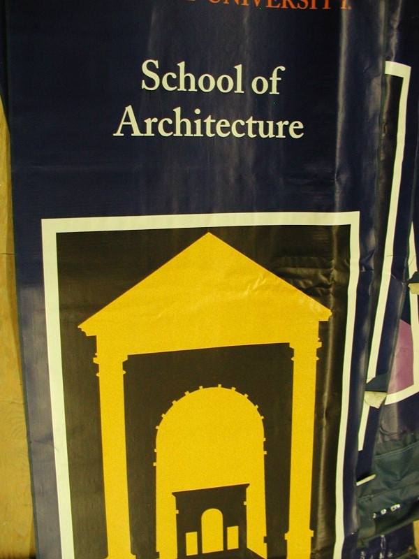 Digital Banner, Custom Banner :: Architecture SU Banner :: Syracuse, NY