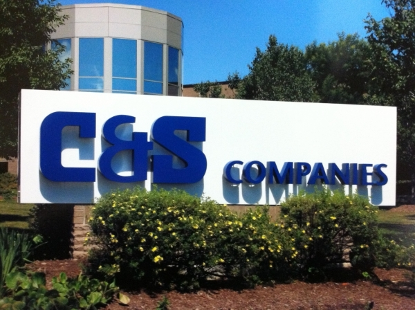 LED signs, monument signs, lit signs :: C&S Companies - LED Illuminated custom sign- Illuminates at night :: Syracuse NY, Central NY, Upstate NY