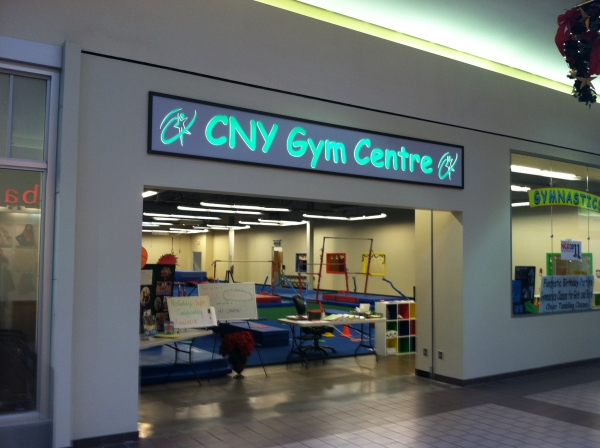 LED Illuminated Signs, Syracuse NY, Custom signs, Syracuse NY, :: CNY Gym Center - LED illuminated sign - Great Northern Mall, Clay NY :: Syracuse NY, Central NY, Upstate NY
