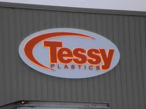 LED Illuminated, Syracuse NY Back lit LED sign, Syracuse NY, Custom signs, Syracuse NY :: Tessy Plastics - LED Illuminated back lit sign - Elbridge NY :: Syracuse NY, Central NY, Upstate NY
