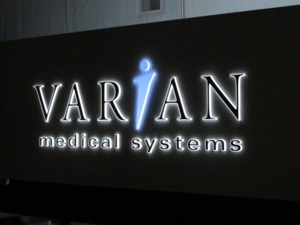 LED Illuminated Signs, Syracuse NY, Custom signs, Syracuse NY, :: Varian Medical - LED Illuminated Sign :: Syracuse NY, Central NY, Upstate NY