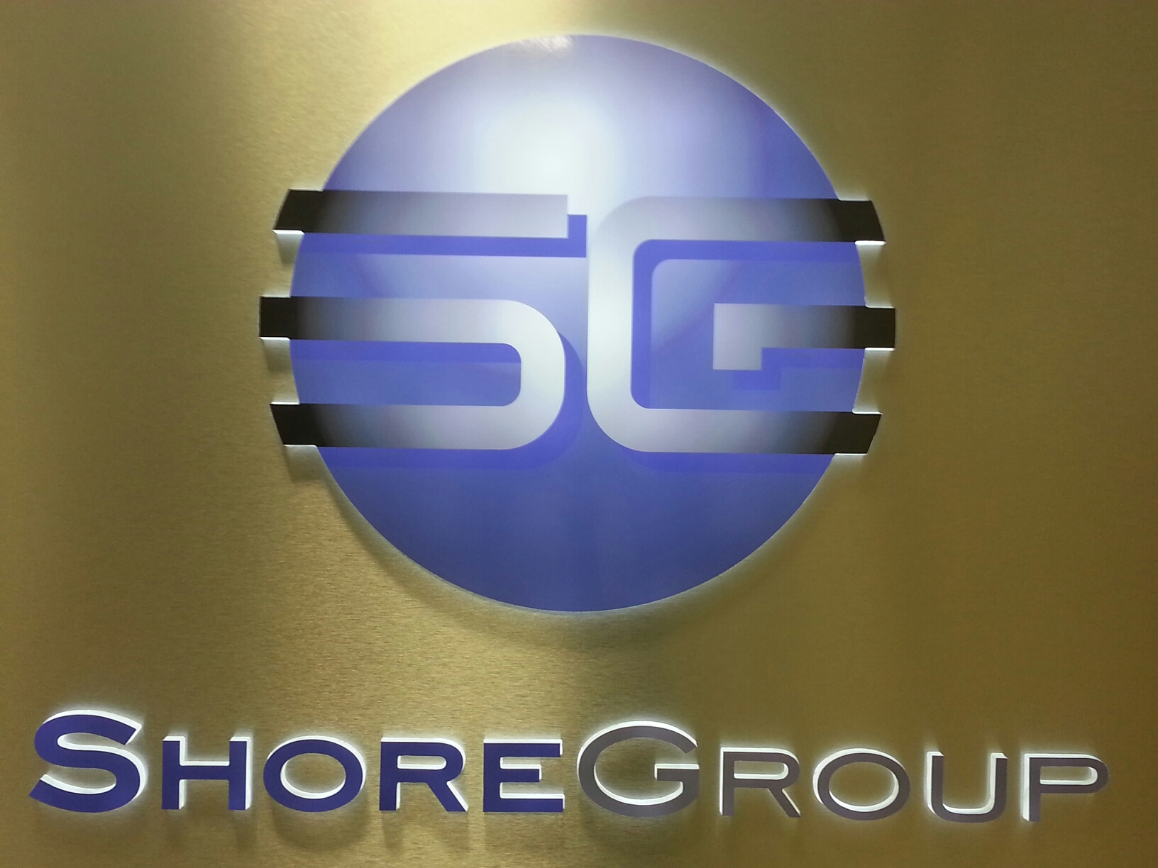Custom signs, Syracuse NY, LED Illuminated signs, Syracuse NY, Shore Group, Syracuse NY, Push through acrylic lit signs, Syracuse NY :: Shore Group - Illuminated sign with push through acrylic - Liverpool NY :: Syracuse NY, Central NY, Upstate NY