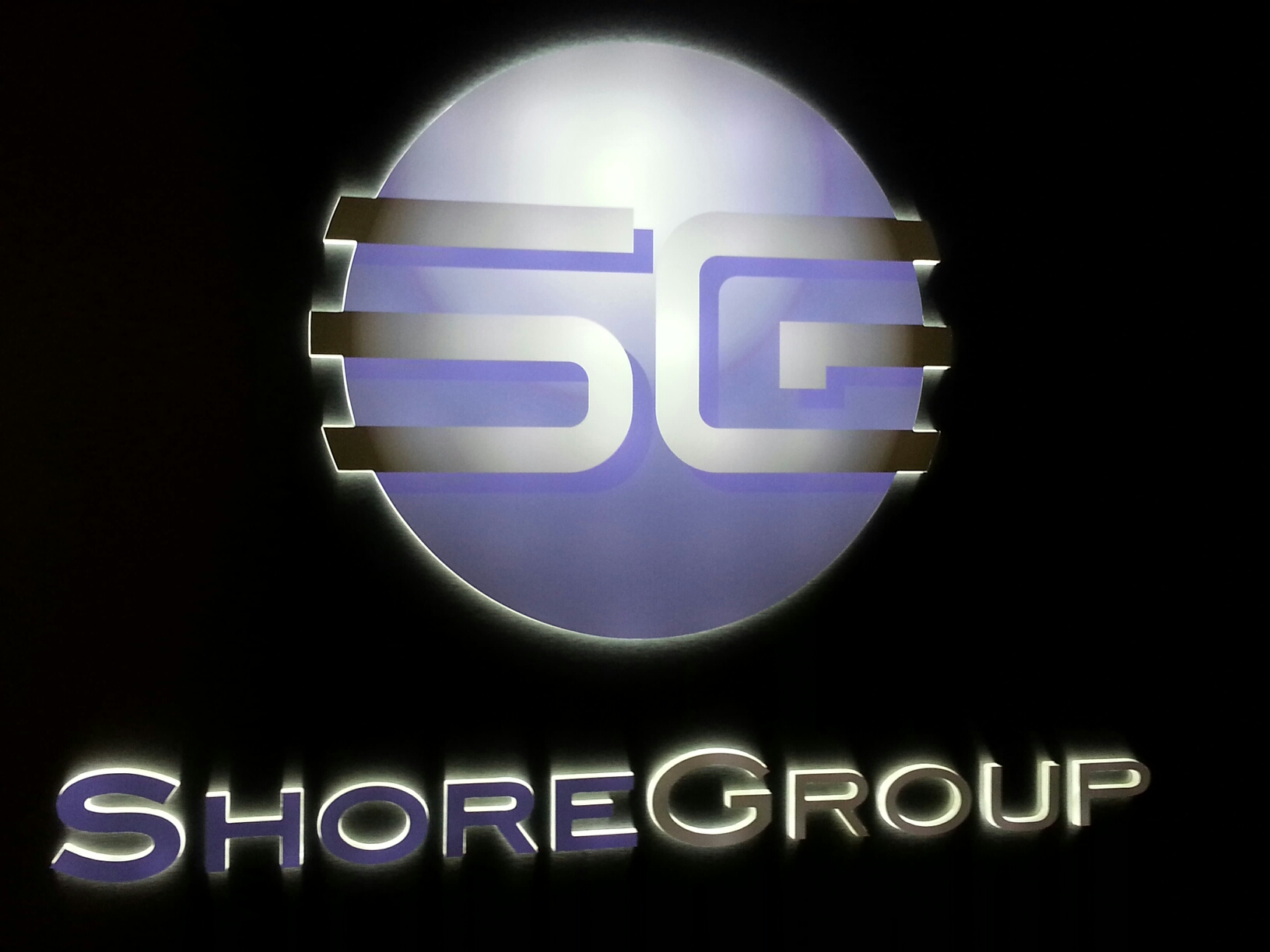 Custom signs, Syracuse NY, LED Illuminated signs, Syracuse NY, Shore Group, Syracuse NY, Push through acrylic lit signs, Syracuse NY :: Shore Group - Custom Illuminated sign with push through acrylic, Liverpool, NY :: Syracuse NY, Central NY, Upstate NY