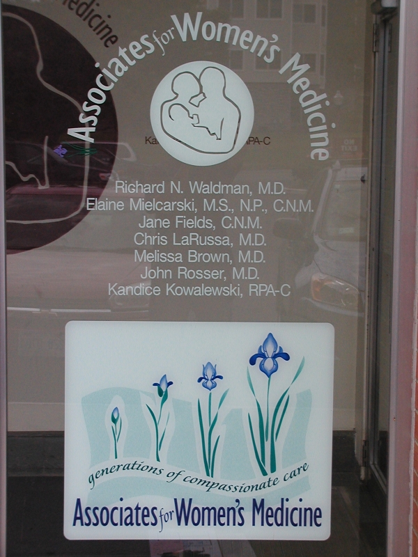 Associates for Woman's Medicine :: Wall Graphics ::
